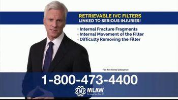 Meyer Law Firm TV Spot, 'Blood Clot Filter' - Thumbnail 4