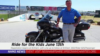 New Hampshire Motor Speedway TV Spot, 'Ride for the Kids' - Thumbnail 10