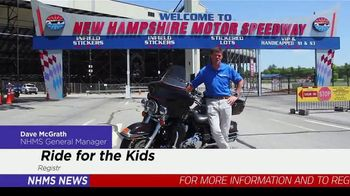 New Hampshire Motor Speedway TV Spot, 'Ride for the Kids' - Thumbnail 2