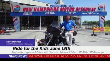 New Hampshire Motor Speedway TV Spot, 'Ride for the Kids' - Thumbnail 3