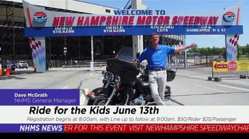 New Hampshire Motor Speedway TV Spot, 'Ride for the Kids' - Thumbnail 4