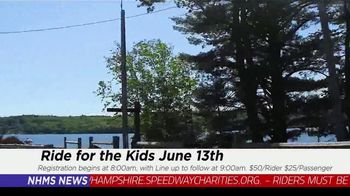 New Hampshire Motor Speedway TV Spot, 'Ride for the Kids' - Thumbnail 5