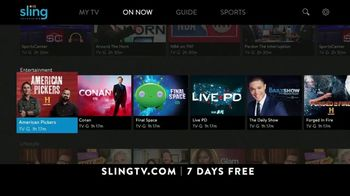 Sling TV Spot, 'Slingers Party' - Thumbnail 8