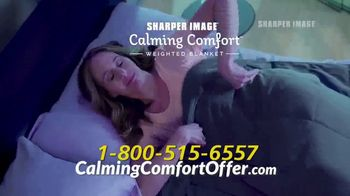 Sharper Image Calming Comfort TV Spot, 'Weighted Blanket' - Thumbnail 10