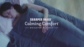 Sharper Image Calming Comfort TV Spot, 'Weighted Blanket'