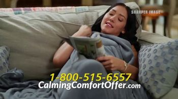 Sharper Image Calming Comfort TV Spot, 'Weighted Blanket' - Thumbnail 7