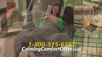 Sharper Image Calming Comfort TV Spot, 'Weighted Blanket' - Thumbnail 8