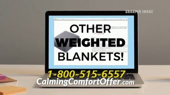 Sharper Image Calming Comfort TV Spot, 'Weighted Blanket' - Thumbnail 9