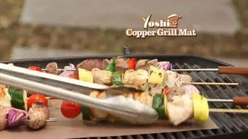 Yoshi Copper Grill Mat TV Spot, \'Great Grilled Flavor\'