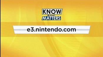 Nintendo TV Spot, 'Know What Matters: Nintendo at E3' - Thumbnail 10