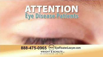 Wright & Schulte, LLC TV Spot, 'Eye Disease Patients' - Thumbnail 1