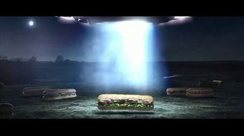Subway TV Spot, 'Seeing Subs?: UFO' - Thumbnail 4