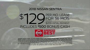 Nissan America's Best Sales Event TV Spot, 'Celebration' [T2] - Thumbnail 9