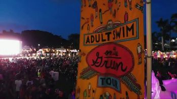 2018 Adult Swim On the Green Tour TV Spot, 'Soak Up Our Newness' - Thumbnail 2