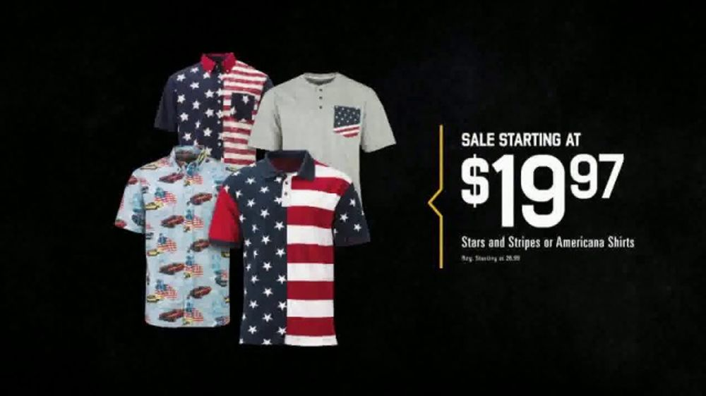 Bass Pro Shops Star Spangled Summer Sale TV Commercial, 'Shirts & Spinning  Combo' - Video