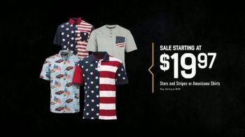 Bass Pro Shops Star Spangled Summer Sale TV Spot, 'Shirts & Spinning Combo'