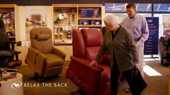Relax the Back TV Spot, 'Lift Assist Chairs' - Thumbnail 5
