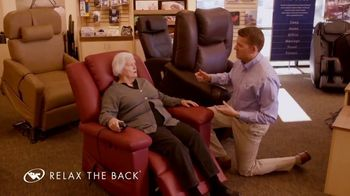 Relax the Back TV Spot, 'Lift Assist Chairs'