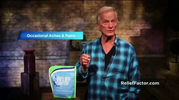 Relief Factor TV Spot, 'Occasional Aches & Pains' - Thumbnail 7