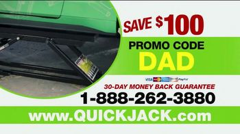 QuickJack TV Spot, '2018 Father's Day: Father Son Time' - Thumbnail 10
