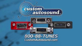 Custom Autosound TV Spot, 'Tunes for Your Classic Ride' - Thumbnail 9