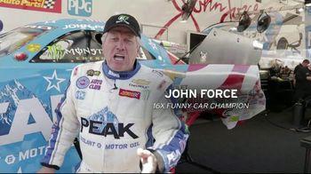 E3 Spark Plugs TV Spot, 'Funny Car Champion' Featuring John Force - Thumbnail 1