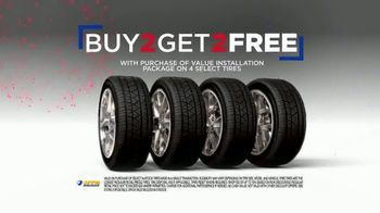 National Tire & Battery 4th of July Super Sale TV Spot, 'Buy 2, Get 2 Tires Free' - Thumbnail 4