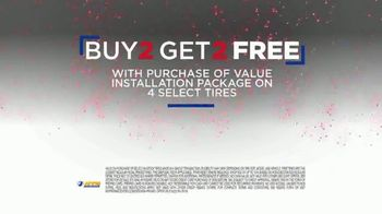National Tire & Battery 4th of July Super Sale TV Spot, 'Buy 2, Get 2 Tires Free' - Thumbnail 7