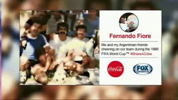 Coca-Cola TV Spot, 'FOX Sports: Share Your Story' Featuring Fernando Fiore - Thumbnail 6