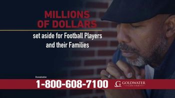 Goldwater Law Firm TV Spot, 'Attention: Football Players Who've Suffered Brain Injury or Concussion'