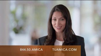 Amica Mutual Insurance Company TV Spot, 'Things We Can't Explain' [Spanish]