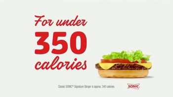 Sonic Drive-In Signature Slinger TV Spot, 'Say Yes to Flavor'