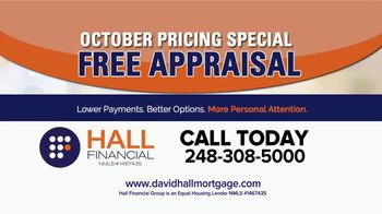 Hall Financial October Pricing Special TV Spot, 'Free Appraisal' - Thumbnail 2