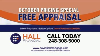 Hall Financial October Pricing Special TV Spot, 'Free Appraisal' - Thumbnail 5