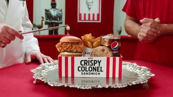 KFC $5 Fill Ups TV Spot, 'Take a Gander: Crispy Colonel Sandwich'