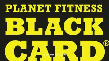 Planet Fitness First Month Free Sale TV Spot, 'Black Card'
