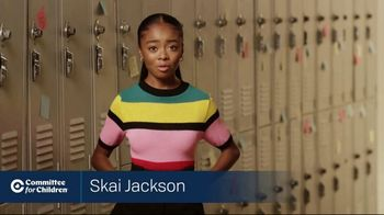Committee for Children TV Spot, 'Imagine a World Without Bullying' Featuring Skai Jackson - Thumbnail 2