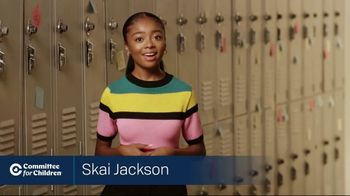 Committee for Children TV Spot, 'Imagine a World Without Bullying' Featuring Skai Jackson - Thumbnail 3