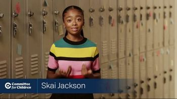 Committee for Children TV Spot, 'Imagine a World Without Bullying' Featuring Skai Jackson - Thumbnail 4