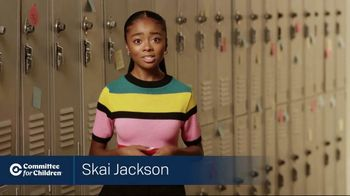 Committee for Children TV Spot, 'Imagine a World Without Bullying' Featuring Skai Jackson - Thumbnail 5