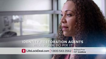 LifeLock With Norton TV Spot, 'On the Hook: Join Now' - Thumbnail 4