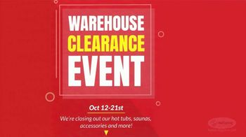 HotSpring Warehouse Clearance Event TV Spot, 'Stay Warm This Winter' - Thumbnail 9