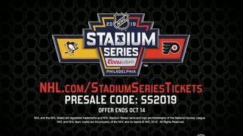 NHL TV Spot, '2019 Stadium Series Presale' - Thumbnail 10