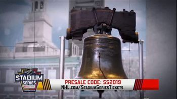 NHL TV Spot, '2019 Stadium Series Presale' - 254 commercial airings