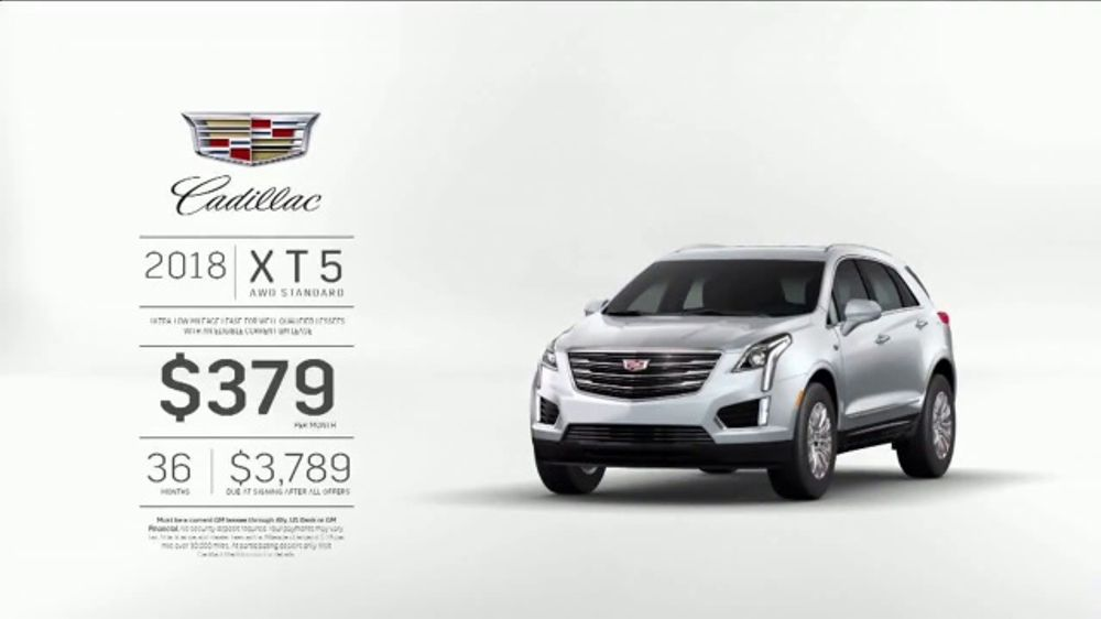 2018 Cadillac Xt5 Tv Commercial Believe The Hype Song By Barns