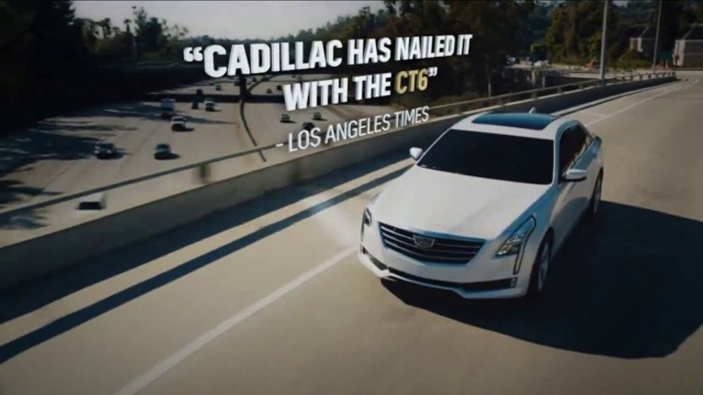 2018 Cadillac Ct6 Tv Commercial Believe The Hype Song By Barns