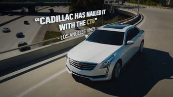 2018 Cadillac CT6 TV Spot, 'Believe the Hype' Song by Barns Courtney [T2] - Thumbnail 4