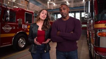 American Red Cross TV Spot, 'Station 19: House Fires' Feat. Jason Winston George, Jaina Lee Ortiz