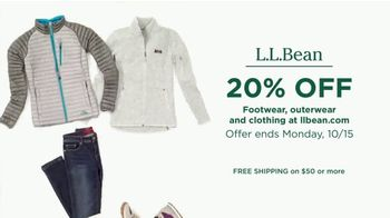 L.L. Bean TV Spot, 'Footwear, Outerwear and Clothing' - Thumbnail 10