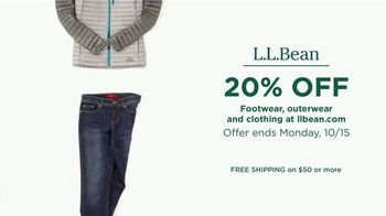 L.L. Bean TV Spot, 'Footwear, Outerwear and Clothing' - Thumbnail 8